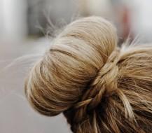 Kaip pasidaryti plaukų spurgą