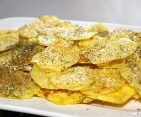 Kaip gaminti naminius bulvių traškučius