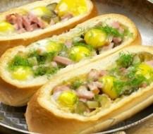 Kaip gaminti karštus sumuštinius su kiaušiniu