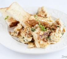 Kaip iškepti skanų omletą