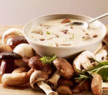 Kaip paruošti kreminę grybų sriubą