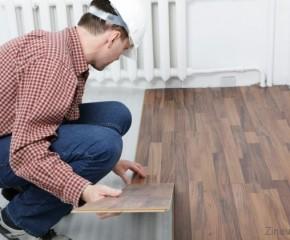 Kaip sudėti laminuotas grindis