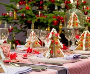 Kaip papuošti Kalėdų stalą