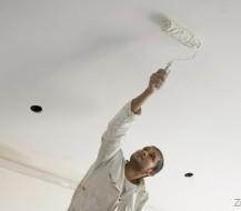 Kaip teisingai dažyti lubas