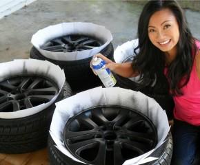 Kaip teisingai nudažyti automobilio ratlankius