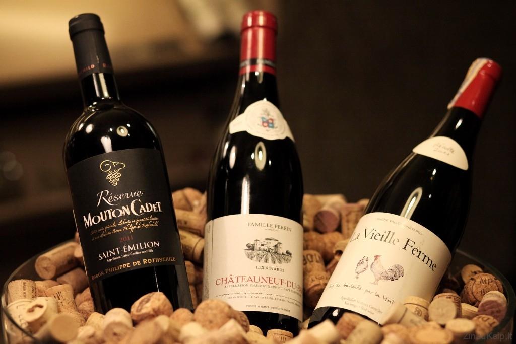 vynas-buteliuos