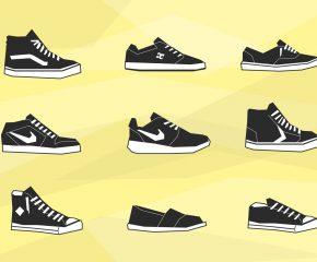 Batų dydžių lentelė ( US, UK, EU dydžiai)