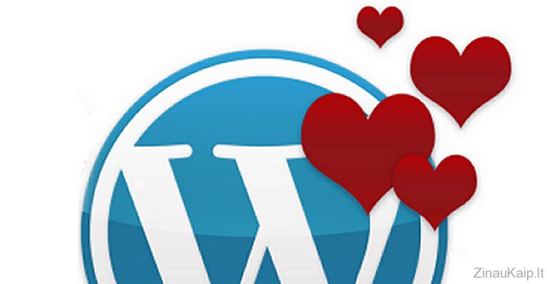 Kaip instaliuoti WordPress?