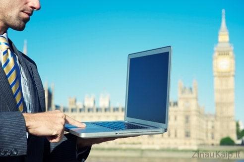 Kaip susirasti darbą Londone