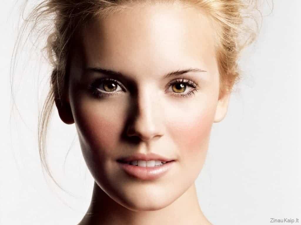 Kaip nustatyti veido formą