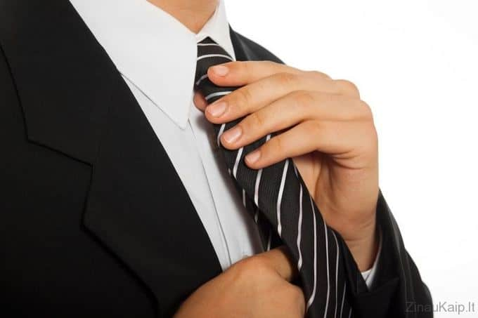 Kaip uzsirišti kaklaraištį
