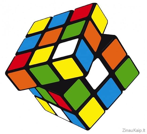 Kaip greitai surinkti Rubiko kubą