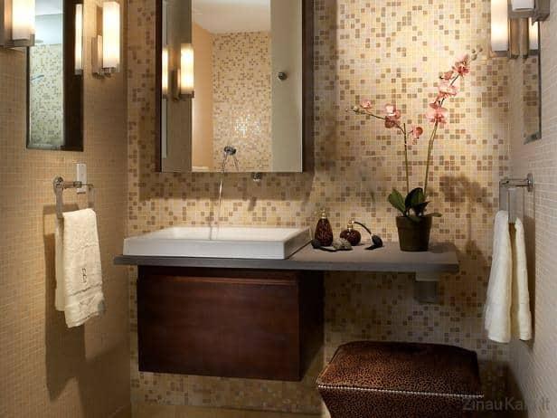 Kaip įsirengti mažo ploto vonią (idėjos)