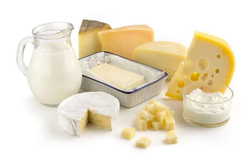 Pieno produktų vartojimas
