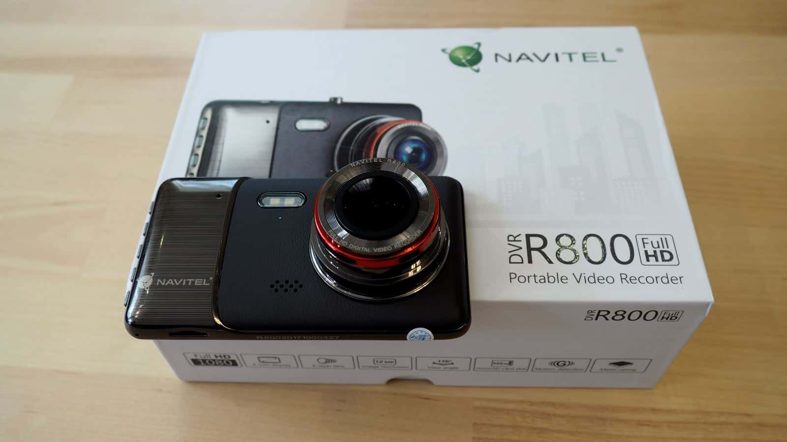Vaizdo registratorius – Navitel R800