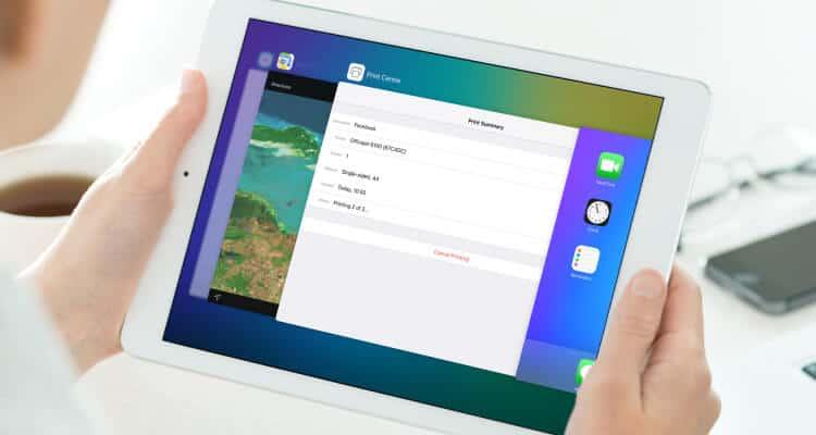 Kaip padaryti ekrano notrauką (Print screen) naudojant iPad