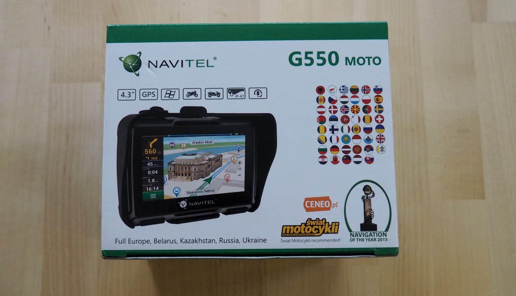 Navitel G550 Moto – puikus navigatorius