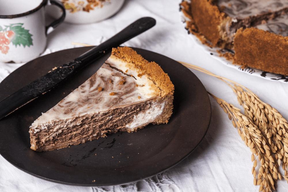 Marmurinio šokolado tortas