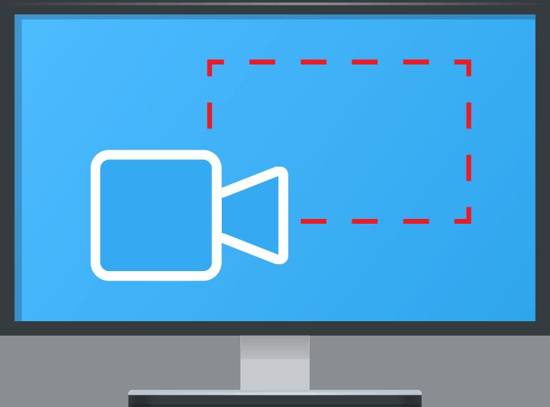 Ekrane matomo vaizdo įrašymas Windows 10 vartotojams