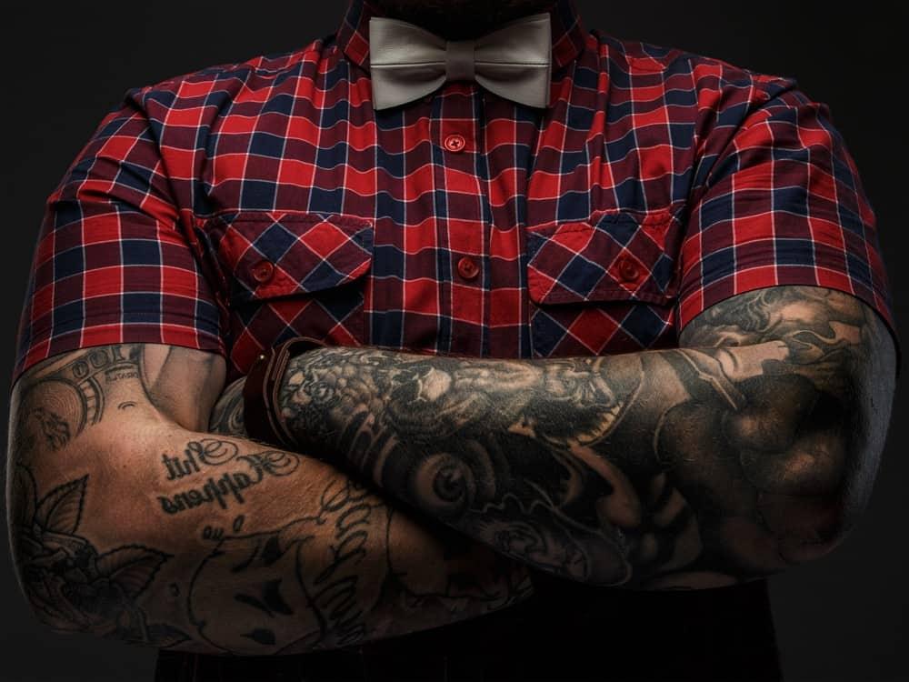 Rankovių tatuiruotės vyrams