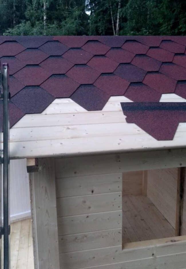 stogo dangos montavimas