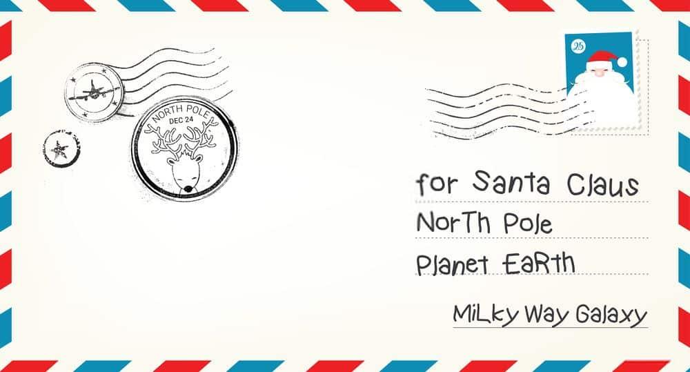 Kaip ir kur išsiųsti laišką Kalėdų seneliui, kad sulauktumėte atsakymo