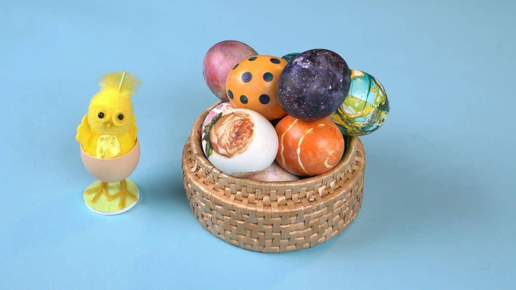 Kaip marginti Velykinius kiaušinius