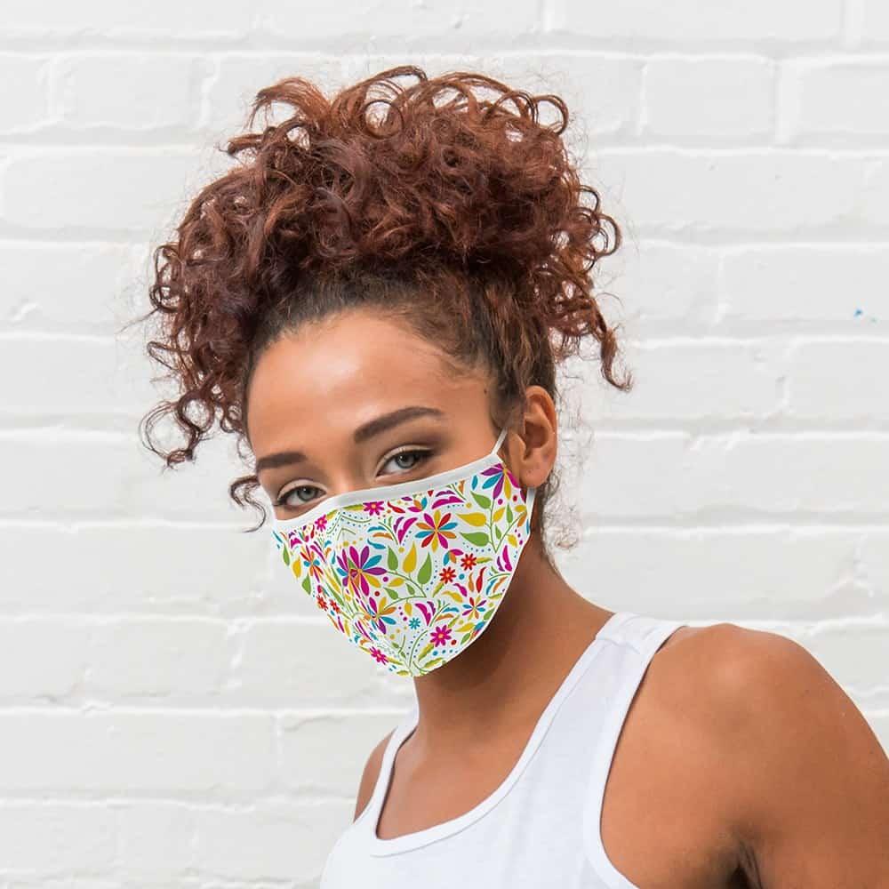Kaip teisingai nešioti ir prižiūrėti medžiaginę veido kaukę