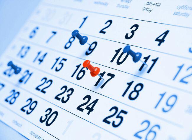 Nedarbo dienos 2022 | nedarbo dienų kalendorius